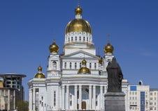 Catedral del guerrero honrado Feodor Ushakov del St Foto de archivo libre de regalías