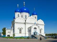 Catedral del icono de Bogolyubsk de nuestra señora de Bogolyubsky santo lunes Foto de archivo libre de regalías