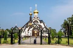 Catedral del icono de la madre de dios Fotos de archivo