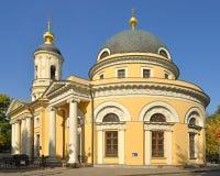 """Catedral del icono de la madre de dios """"Joy de todos que  de Sorrow†Calle de Bolshaya Ordynka moscú Fotos de archivo libres de regalías"""