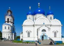 Catedral del icono de nuestra señora, monast de Bogolyubsk del St Bogolyubsky Imagen de archivo