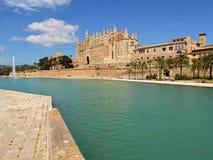 Catedral del la Seu Mallorca Fotos de archivo