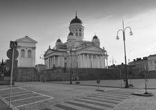 Catedral del Lutheran de Helsinki Imagen de archivo