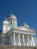 Catedral del Lutheran en Helsinki (Finlandia) imagen de archivo