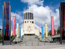 Catedral del metropolitano de Liverpool Fotos de archivo libres de regalías