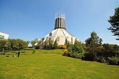 Catedral del metropolitano de Liverpool foto de archivo libre de regalías