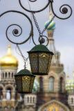 Catedral del na Krovi de los balnearios Imagen de archivo libre de regalías