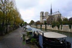 Catedral del Notre Dame de Paris Imagen de archivo libre de regalías