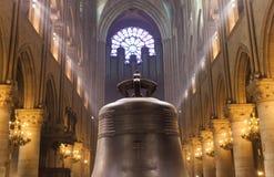 Catedral del Notre Dame de Paris Foto de archivo