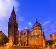 Catedral del primate de St Mary en Toledo, España fotos de archivo libres de regalías