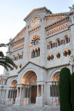 Catedral del Principado de Monaco Royalty Free Stock Photo