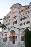 Catedral del Principado de Monaco Foto de Stock Royalty Free