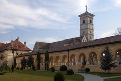 Catedral del Romanesque Foto de archivo libre de regalías