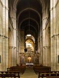Catedral del romanesque de Lugo Fotografía de archivo libre de regalías