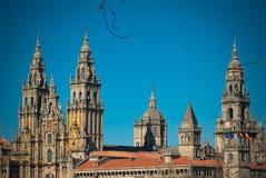 Catedral del Romanesque en Galicia Imagenes de archivo