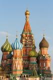Catedral del ` s de la albahaca del santo en Moscú, Plaza Roja imagen de archivo