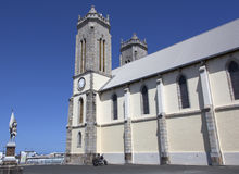Catedral del ` s de Nueva Caledonia Foto de archivo