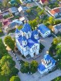 Catedral del ` s de San Jorge, la ciudad de Kamenets Podolsk imagen de archivo libre de regalías