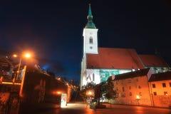 Catedral del ` s de San Martín en Bratislava Imagen de archivo libre de regalías