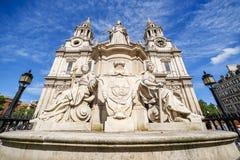 Catedral del ` s de San Pablo Fotografía de archivo libre de regalías