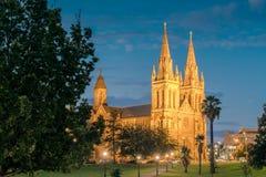 Catedral del ` s de San Pedro de Adelaide Imágenes de archivo libres de regalías