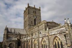 Catedral del ` s de St David Foto de archivo libre de regalías