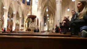 Catedral del ` s de St Patrick almacen de video