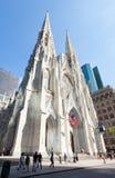 Catedral del ` s de St Patrick en Fifth Avenue, Manhattan Foto de archivo