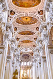 Catedral del ` s de St Stephen en Passau fotografía de archivo libre de regalías