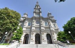 Catedral del sacramento bendecido, Sacramento California Fotografía de archivo libre de regalías