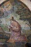 Catedral del Saint Pierre, Poitiers, Francia Imagen de archivo libre de regalías