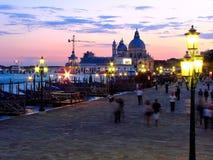 Catedral del saludo del della de Santa María de la arquitectura de Venecia fotos de archivo