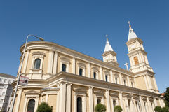 Catedral del salvador divino - Ostrava - República Checa Fotografía de archivo
