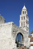 Catedral del santo Domnius en fractura, Croacia Fotos de archivo