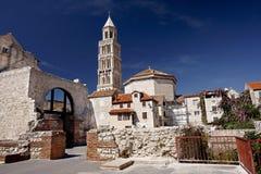 Catedral del santo Domnius, fractura Fotografía de archivo libre de regalías