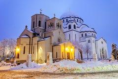 Catedral del santo Sava foto de archivo