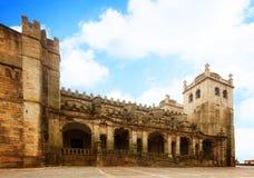 Catedral del SE de Oporto, Portugal Imagen de archivo libre de regalías