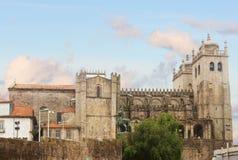 Catedral del SE de Oporto, Portugal Foto de archivo libre de regalías