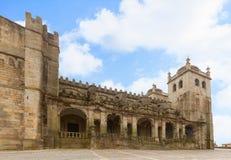 Catedral del SE de Oporto, Portugal Foto de archivo