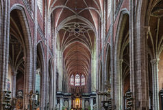 Catedral del St Bavo, Gante, Bélgica imagen de archivo