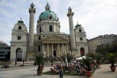 Catedral del St. Charles Imágenes de archivo libres de regalías