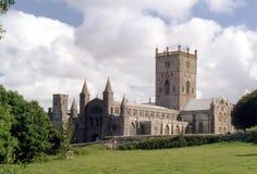 Catedral del St David Imagen de archivo libre de regalías