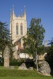Catedral del St Edmunds Abbey Remains y del St Edmundsbury del entierro Fotografía de archivo