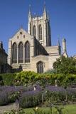 Catedral del St Edmundsbury en St Edmunds del entierro Fotografía de archivo