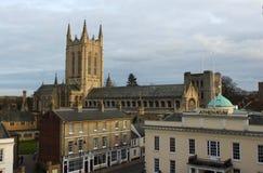 Catedral del St Edmundsbury, Suffolk Foto de archivo libre de regalías