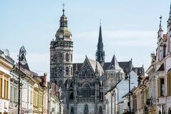 Catedral del St Elisabeth en Kosice, Eslovaquia Fotografía de archivo libre de regalías