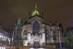 Catedral del St Giles Fotos de archivo libres de regalías