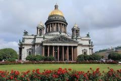 Catedral del St Isaac Imágenes de archivo libres de regalías
