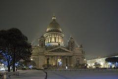 Catedral del St Isaac Imagen de archivo libre de regalías