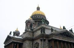 Catedral del St. Isaacs Imagenes de archivo